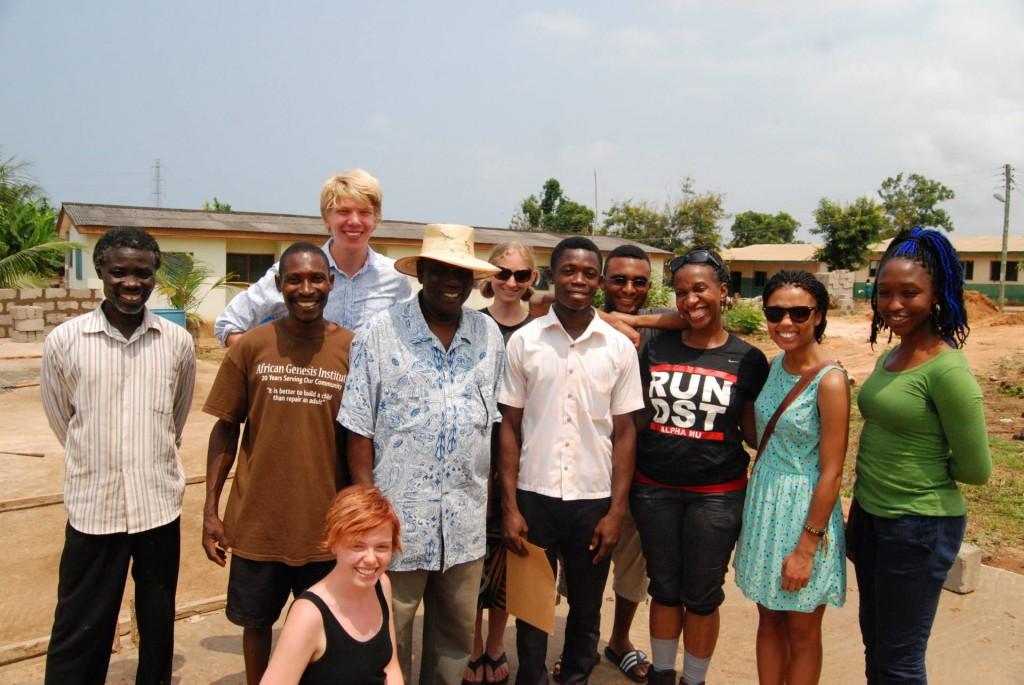 NCSU/AFS Study Abroad Participants; Nana Eduakwa and Francis Anasie